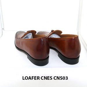 [Outlet size 41] Giày lười nam nâng chiều cao loafer Cnes CNS03 004