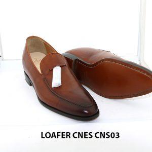 [Outlet size 41] Giày lười nam nâng chiều cao loafer Cnes CNS03 003