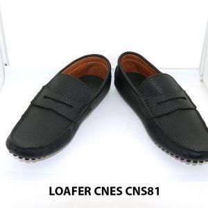 Giày lười nam đế gai mát xa chân loafer Cnes CNS81 006