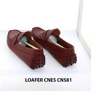 Giày lười nam đế gai mát xa chân loafer Cnes CNS81 005
