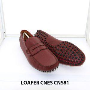 Giày lười nam đế gai mát xa chân loafer Cnes CNS81 004