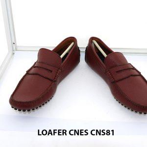 Giày lười nam đế gai mát xa chân loafer Cnes CNS81 003