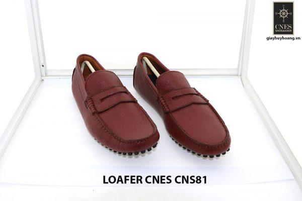 Giày lười nam đế gai mát xa chân loafer Cnes CNS81 002