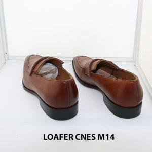 [Outlet size 42] Giày lười nam mũi vuông loafer Cnes M14 004