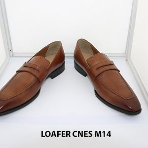[Outlet size 42] Giày lười nam mũi vuông loafer Cnes M14 002
