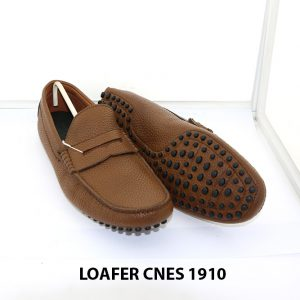 Giày lười nam da bò loafer Cnes 1910 006