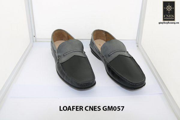 [Outlet Size 41+42] Giày lười nam đế thấp loafer Cnes GM057 005
