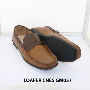 [Outlet Size 41+42] Giày lười nam đế thấp loafer Cnes GM057 003