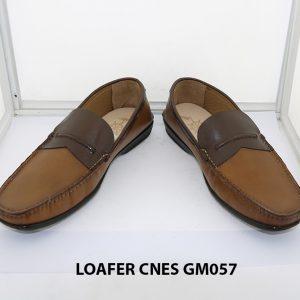 [Outlet Size 41+42] Giày lười nam đế thấp loafer Cnes GM057 002