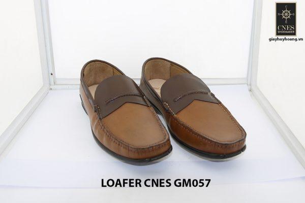[Outlet Size 41+42] Giày lười nam đế thấp loafer Cnes GM057 001
