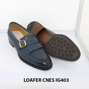 [Outlet 39+40] Giày lười nam trẻ trung loafer Cnes IG403 003