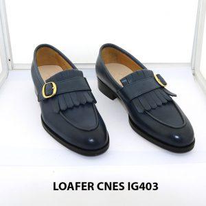 [Outlet 39+40] Giày lười nam trẻ trung loafer Cnes IG403 001