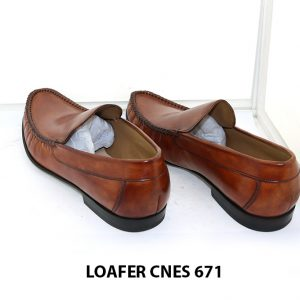 [Outlet 42+43+44] Giày lười nam rút tay loafer Cnes 671 004