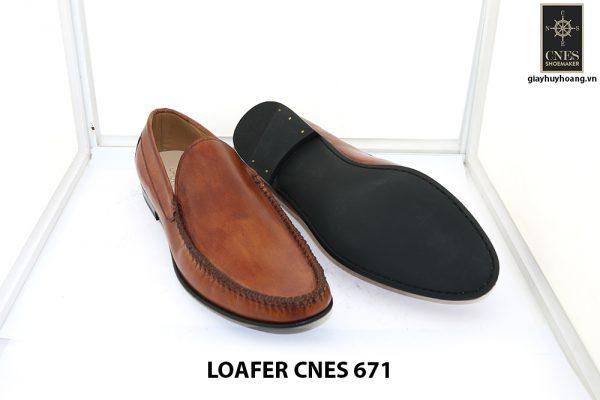[Outlet 42+43+44] Giày lười nam rút tay loafer Cnes 671 003