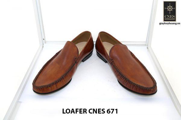 [Outlet 42+43+44] Giày lười nam rút tay loafer Cnes 671 002