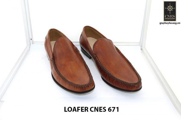 [Outlet 42+43+44] Giày lười nam rút tay loafer Cnes 671 001