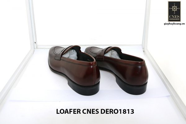 [Outlet size 41] Giày lười nam đỏ đô loafer Cnes DERO1813 004