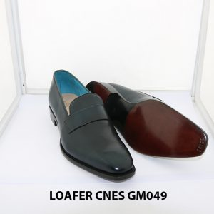 [Outlet Size 43] Giày lười nam màu xanh loafer Cnes GM049 003