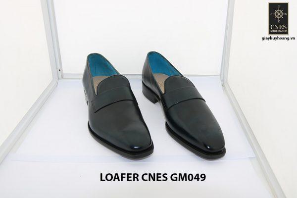 [Outlet Size 43] Giày lười nam màu xanh loafer Cnes GM049 001