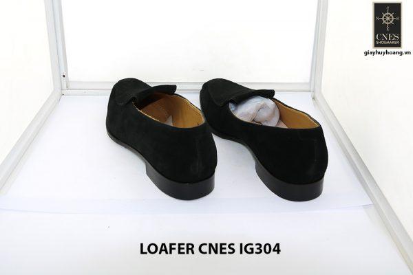 [Outlet Size 42] Giày lười nam da lộn loafer Cnes IG304 004