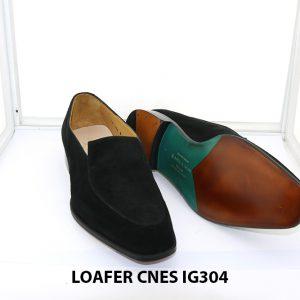 [Outlet Size 42] Giày lười nam da lộn loafer Cnes IG304 003