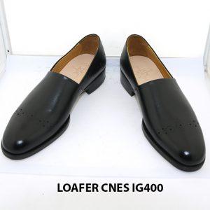 [Outlet size 38] Giày lười nam chính hãng loafer Cnes IG400 002
