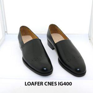 [Outlet size 38] Giày lười nam chính hãng loafer Cnes IG400 001