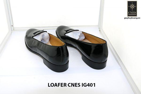 [Outlet 38+41+43] Giày lười nam da bóng loafer Cnes IG401 004