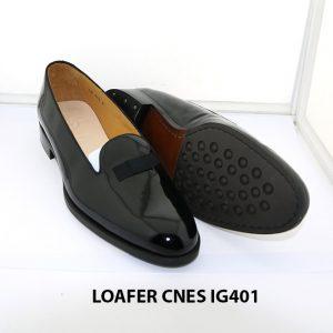 [Outlet 38+41+43] Giày lười nam da bóng loafer Cnes IG401 003