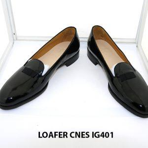 [Outlet 38+41+43] Giày lười nam da bóng loafer Cnes IG401 002