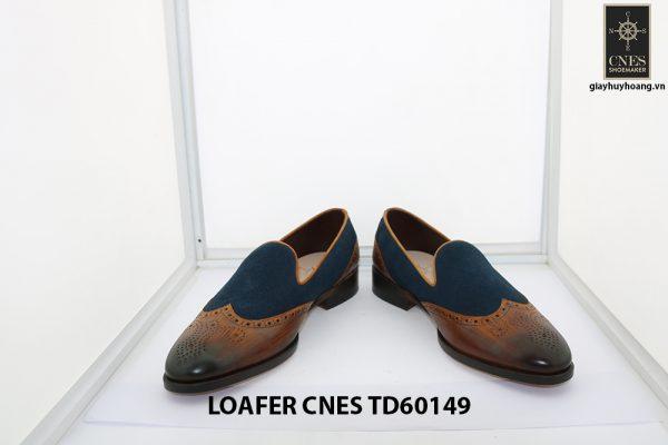 [Outlet Size 42] Giày lười nam đẹp cá tính Loafer Cnes TD60149 002