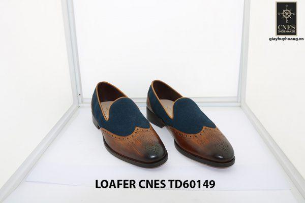 [Outlet Size 42] Giày lười nam đẹp cá tính Loafer Cnes TD60149 001