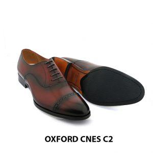 [Outlet Size 40] Giày tây Oxford nam hàng hiệu Cnes C2 003