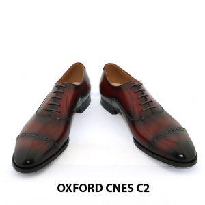 [Outlet Size 40] Giày tây Oxford nam hàng hiệu Cnes C2 002