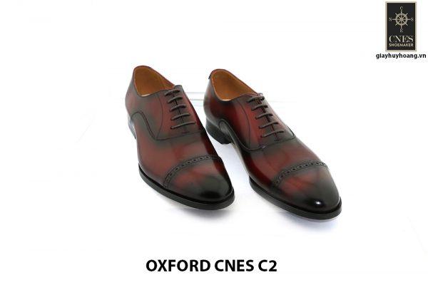 [Outlet Size 40] Giày tây Oxford nam hàng hiệu Cnes C2 001