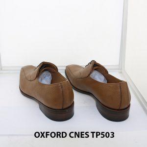 [Outlet size 43] Giày da nam da hột cao cấp Oxford Cnes TP503 005