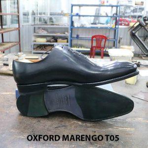 [Outlet Size 43] Giày tây nam không hoạ tiết Oxford CNES T05 008