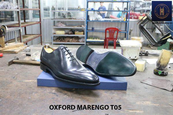 [Outlet Size 43] Giày tây nam không hoạ tiết Oxford CNES T05 004