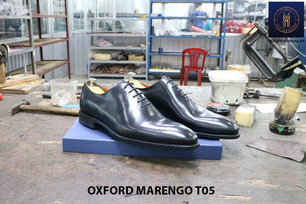 [Outlet Size 43] Giày tây nam không hoạ tiết Oxford CNES T05 001