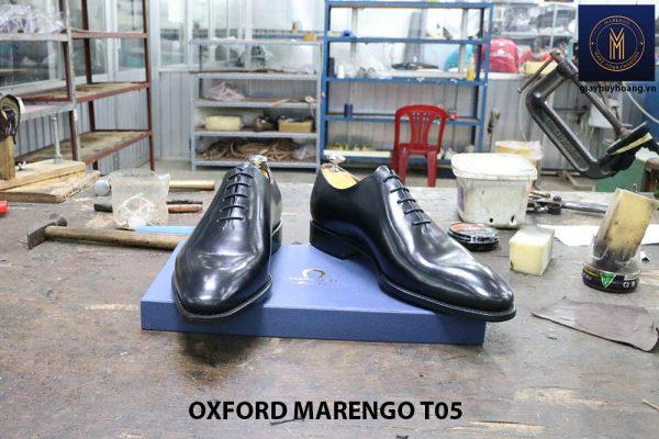 [Outlet Size 43] Giày tây nam không hoạ tiết Oxford CNES T05 003
