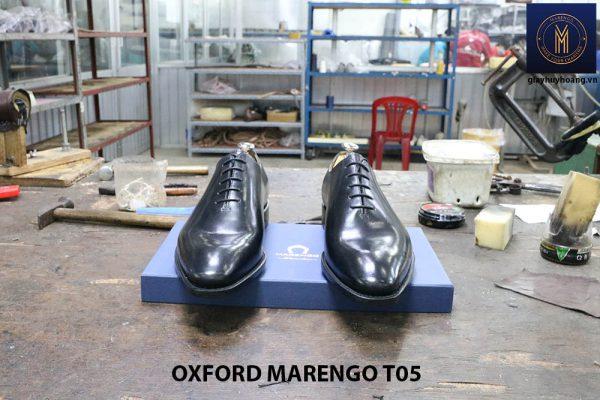 [Outlet Size 43] Giày tây nam không hoạ tiết Oxford CNES T05 002