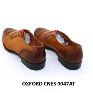 [Outlet size 41] Giày tây nam toả sáng Oxford Cnes 0047AT 004