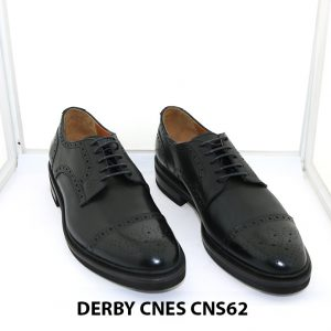 [Outlet Size 42] Giày tây nam thời trang Derby Cnes CNS62 001