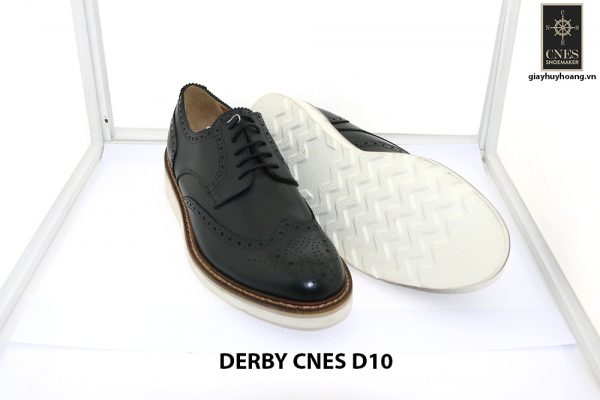 [Outlet size 40] Giày tây nam thể thao Derby Cnes D10 003