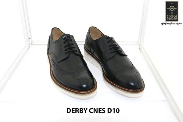[Outlet size 40] Giày tây nam thể thao Derby Cnes D10 001