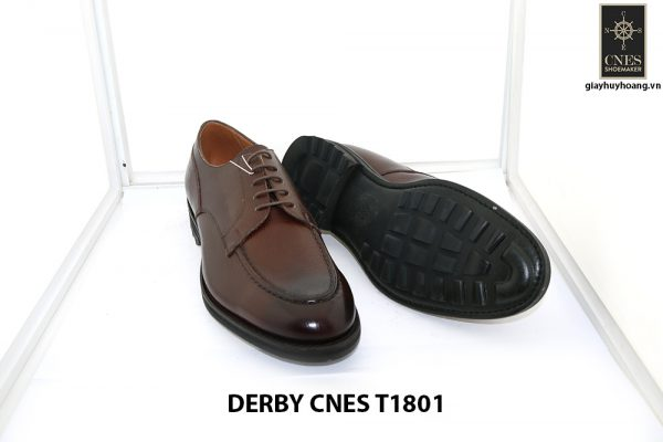 [Outlet Size 43] Giày tây nam mạnh mẽ Derby Cnes T1801 003