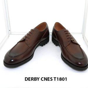 [Outlet Size 43] Giày tây nam mạnh mẽ Derby Cnes T1801 002