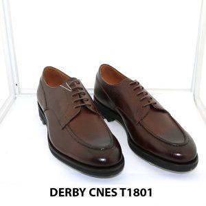 [Outlet Size 43] Giày tây nam mạnh mẽ Derby Cnes T1801 001