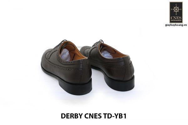 [Outlet Size 40] Giày tây nam không sợ nhăn Derby Cnes TD-YB1 004