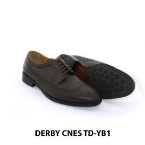 [Outlet Size 40] Giày tây nam không sợ nhăn Derby Cnes TD-YB1 003